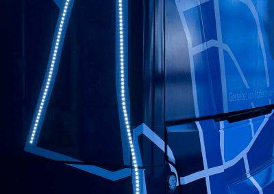Fotodokumentation LED-Obus