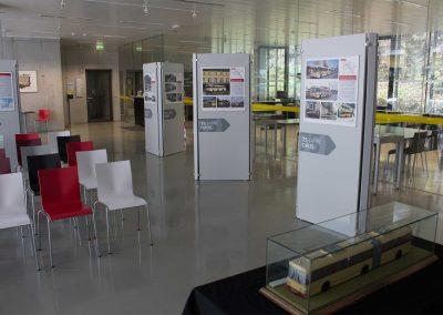Ausstellungs-Konzept 75 Jahre Obus